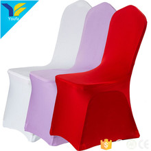 China suppliers christmas 200gsm plain universal stretch chair covers banquet hall cheap spandex chair cover wedding