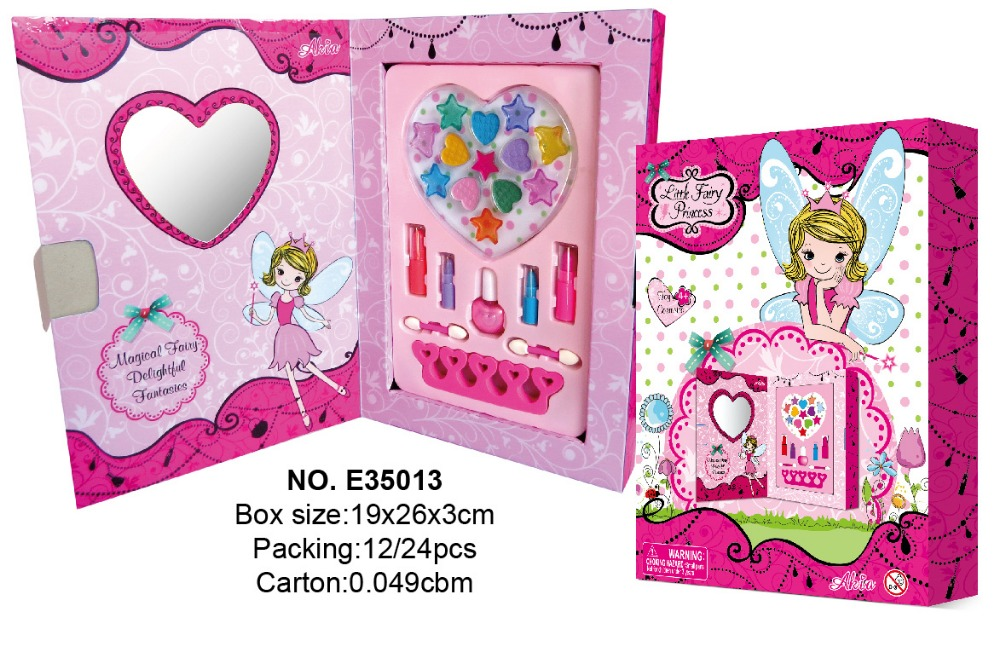 High Quality Kids makeup set, Children Artistic Box Cosmetics, Colorful Girls makeup kit