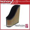 NAHAM desk organizer bamboo decoration file holder stationery box