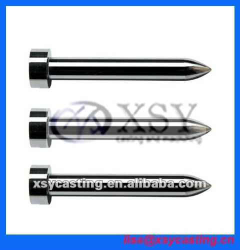 cnc machining punch pin/tungsten punch/high abrasion resistance