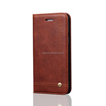 New design for iphone 7 leather case,mobile phone accessories