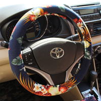 Wholesale New Design Car Steering Wheel Cover, Car Wheel Cover, Customized Steering Wheel Cover