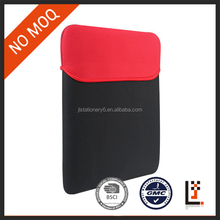 stock black neoprene laptop sleeve without zipper for 11 inch