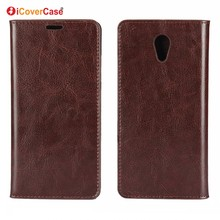 Cell Phone Case for Lenovo Vibe P2 Luxury Business Crazy Horse Genuine Leather Wallet Cover for Lenovo P2 Phone Case