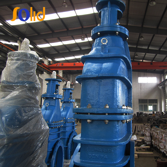 BS5163 Big Size DN500 Expoxy Coated Metallic Seated by Pass Flanged Gate Valve