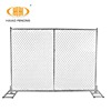 Cheap conveniment chain link wire mesh temporary fence for sale