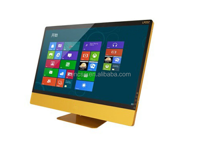 "10 points touchscreen 1080p LED Computer <strong>monitor</strong> with DVI for 21.5"" 23.6"" 27"""