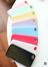 silicone handphone cover for iphone5