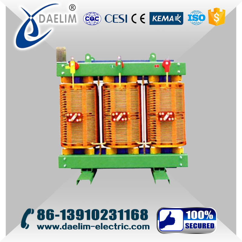 High Reliabllity 10kv 1250kva Dry-Type Insulator Power Transformer
