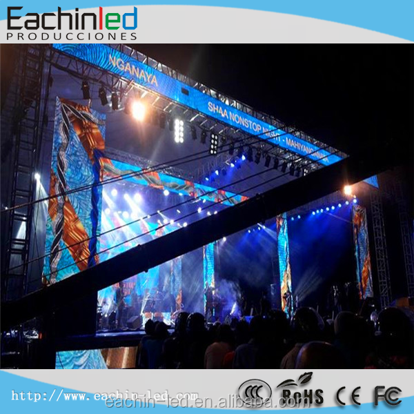 Fast and Easy Installation Slim Video Wall Panel P6.944mm Musical Excellence & entertainment LED Display