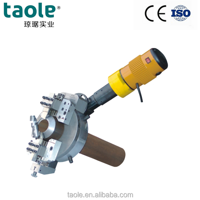 OCE-89 Electric Driven Type Stainless <strong>steel</strong> pipe cutting machines and Beveling Machines