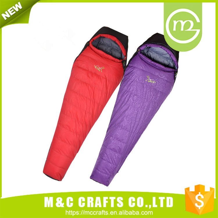 Cheap hot sale top quality luxury goose down sleeping bag