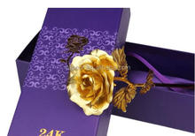 Gold rose 24K Rose Flower Wedding Gift