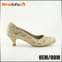 Wholesale supplier luxury high heel wedding shoes fashion bridal shoes