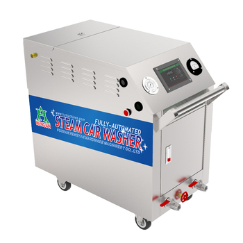 High quality electricity stainless steel dry wet steam car wash machine
