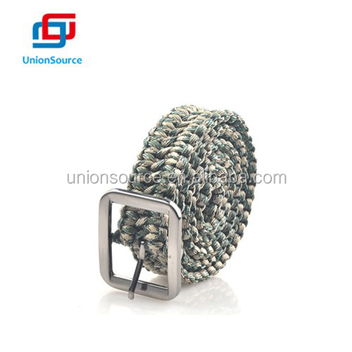Wholesale paracord belt custom logo paracord belt for outdoor