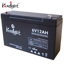 6 volt dry cell battery sealed lead acid batteries 6v 12ah for UPS and wheel chair