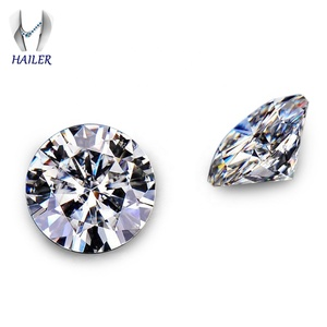 Cheap price Synthetic Diamond for Jewelry Making Round EF Color moissanite price