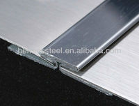 316 stainless steel T channel trim strip