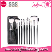 Sofeel 12pcs brushes make up factory