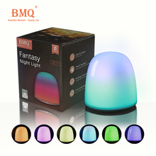 Portable Led lamp USB Colorful Touch lights festival light table lamp rechargeable night light With Shaking mode