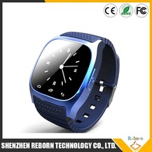 New arrival wifi smart watch/ cheap samrt watch/ Bluetooth silicone smart watch M26
