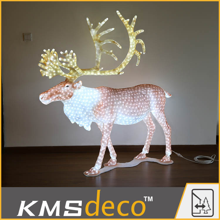 LED reindeer family Led 3D Motif Animal Light for Christmas decoration