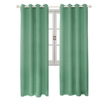 Hot Sale <strong>100</strong>% Polyester Simple Window Curtains