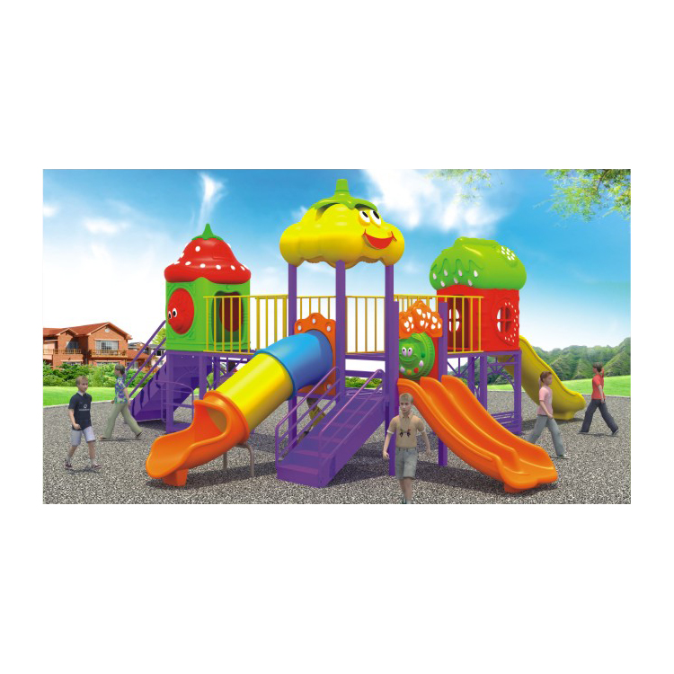 Customized Color Option Plastic LLDPE kids outdoor playground equipment children playground equipment HFC167-02