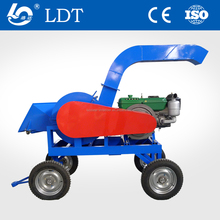 CE approve 2018 good price mobile wood shredder/portable wood shredder, diesel chipper shredder