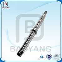precision cnc machining custom forged carbon steel hollow shaft