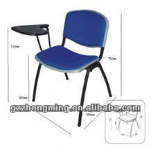Comfortable Plastic Student Chair With Tablet Arm C-02
