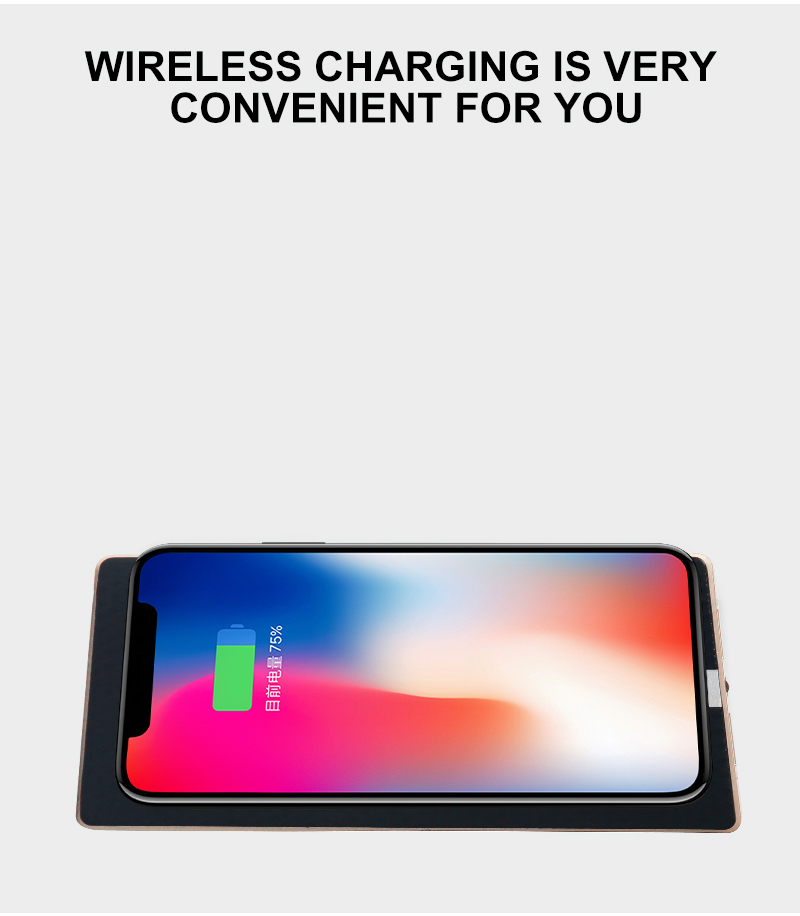 8000mah wireless power bank charger fast speed 2.0 for iphone x, for Samsung