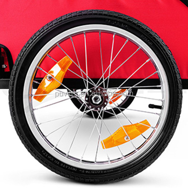 New Design Pet Bike Trailer with EN15918:2011&ISO9001:2008