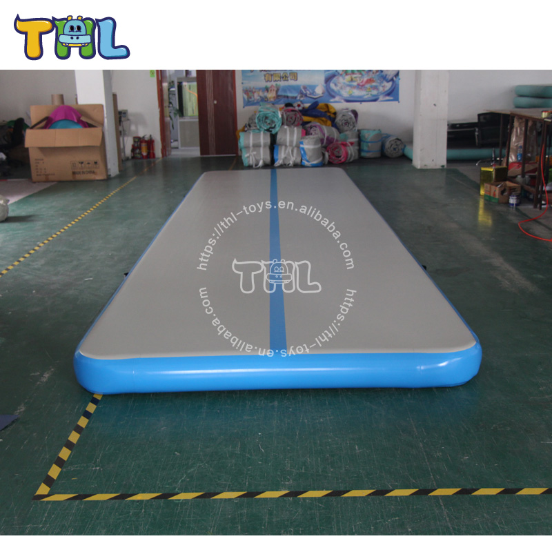 Gymnastics fitness equipment tumbling air track,inflatable air track for sale
