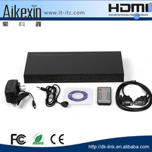 High Speed Hdmi 1.3 HDMI Matrix 4 Port 4 In 4 Out Support Full HD 1080P 3D IR Control