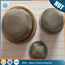 Mesh strainer element stainless steel oil filter cap / tap water filter cap