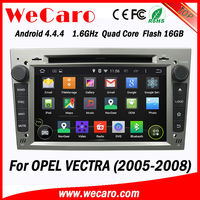 Wecaro GPS Navi Wifi 3G 2 Din Android Car Navigation Multimedia for Opel Vectra 2005 2006 2007 2008