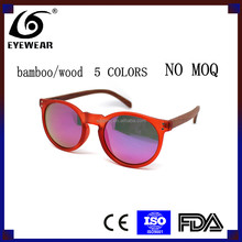 <strong>Bamboo</strong>/Wooden sunglasses. NO MOQ; Fashion Polarized Retro Sunglasses