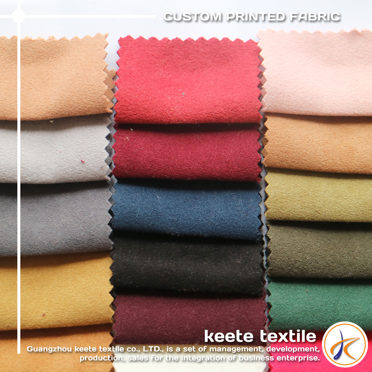 95% polyester 5% spandex high quality knitting Sided sanding fabric