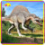 KANO2073 Outdoor Fiberglass Life Size Dinosaur Statue For Sale