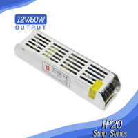 strip type power supply 12V 60W 80W 100W 120W 150W 180W 200W 250W Slim Power Supply AC DC Adapter