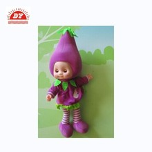 ICTI certificated custom made vinyl fruits and vegetables doll