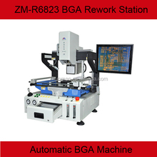 High end high automatic bga rework station ZM-R6823 with optical alignment,CCD monitor