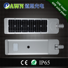 20W hot sale best selling integrated all in one solar led street light lamp cast iron garden lantern light