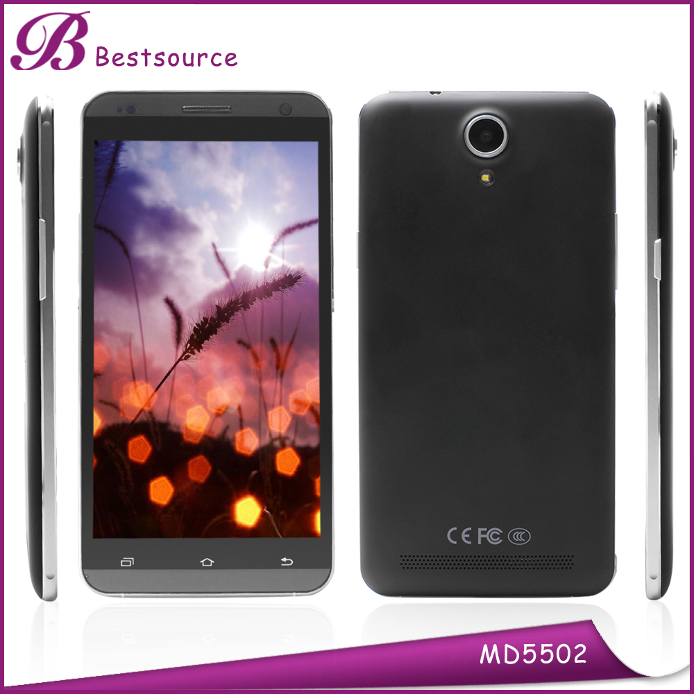 Hot Sale 5.5INCH Touch Screen Cell Phone Unlocked Dual Core Mtk6572 Android 4.4 Wifi GPS 3G Cellular Phone