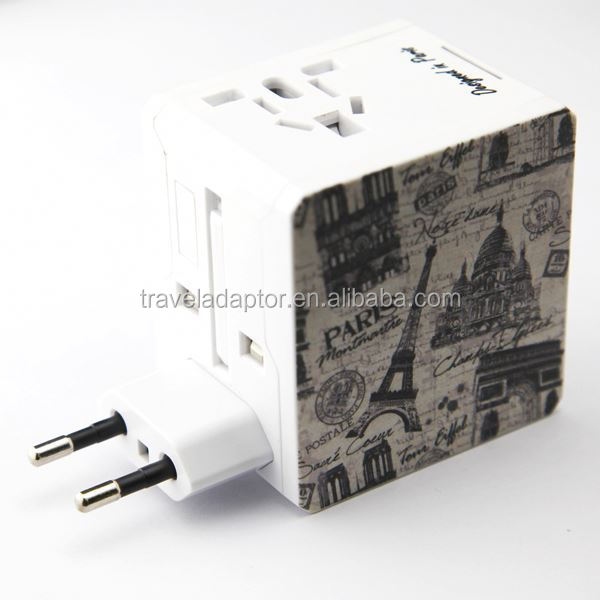 2014 Newest! Newest ! Best Selling business gift set korea mobile phone accessories Dual USB charger adapter