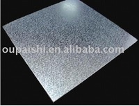 Lightweight transfer stamping hollow core PVC panels roof decoration