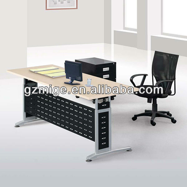 Greem Laminated Wooden Office Desk
