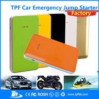TPF promotional universal portable power bank charger 8000mah 12v jump starter